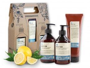 Balíček INSIGHT DAILY USE šampon 400 ml + kondicionér 400 ml + maska 250 ml dárková sada