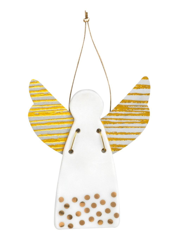 Porcelánový anděl VIII.