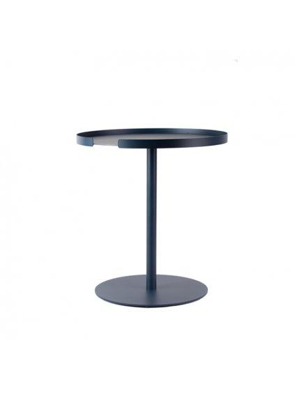 designbite big hug side table midnight blue
