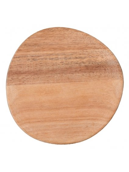 Dřevěný talířek