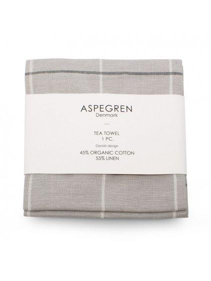 Aspegren teatowel squares silvergray 4103 wrap web3