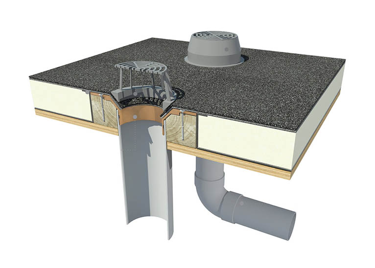 Hydroizolace ploché střechy
