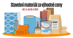 Duben 2019 - Stavební materiál za výhodné ceny
