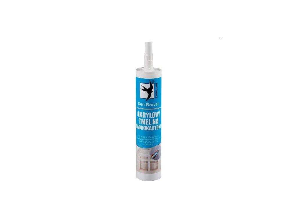 Akrylový tmel na sádrokartony Den Braven (310 ml)