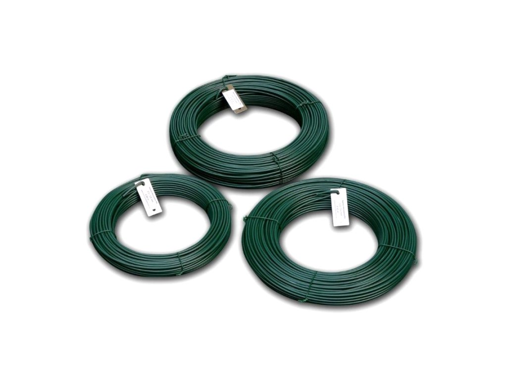 Poplastovaný napínací drát (3,5 mm / 52 m)