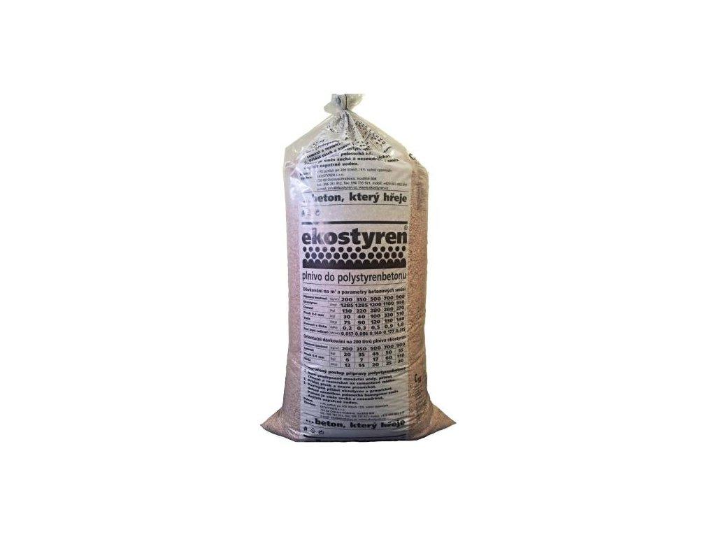 Polystyrenová drť do betonu Ekostyren 0,2 m3 (200 l)