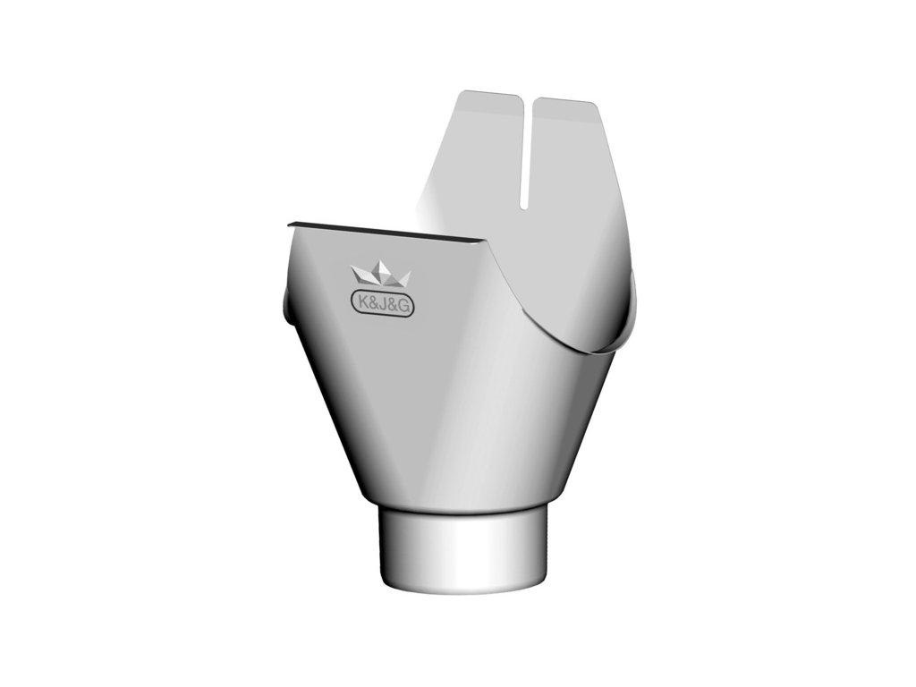 Kotlík okapového svodu TiZn (330/100 mm)