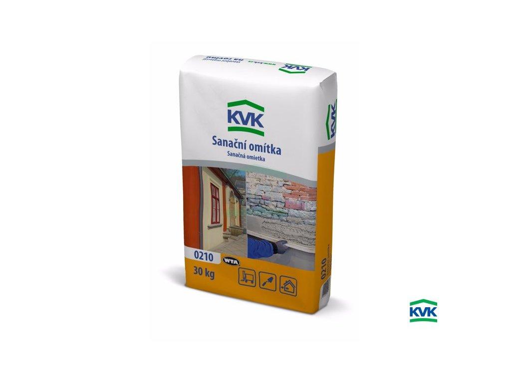 Sanační jádrová omítka KVK 0210 (30 kg)
