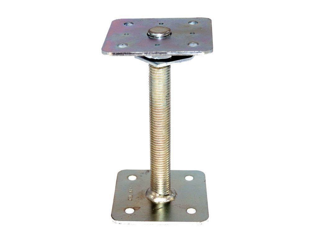 Kotevní patka s pojistkou HPM TEC (110x110x200 mm)
