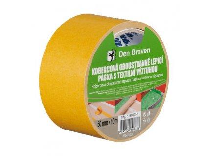 Opravná páska textilní - stříbrná TESA