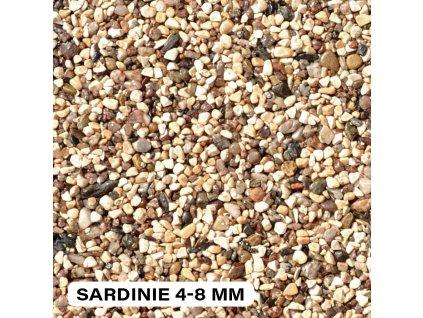 Kamenný koberec Destone Sardinie (zrnitost 4-8 mm, 25 kg)
