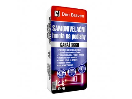 Samonivelační hmota na podlahy Den Braven Garáž S660 (25 kg)