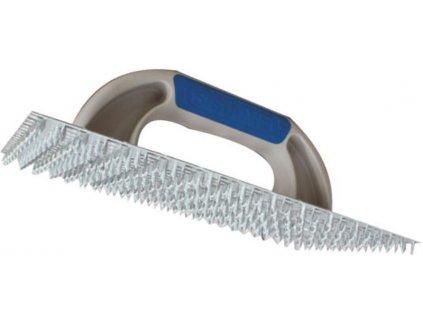 Plechový škrabák na omítky Kubala (250x130 mm)