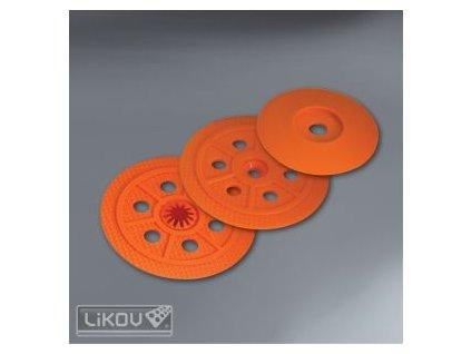 Tepelně izolační talířek TIT (oranžový)