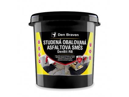 Studená obalovaná asfaltová směs Den Braven DenBit RB (25 kg)