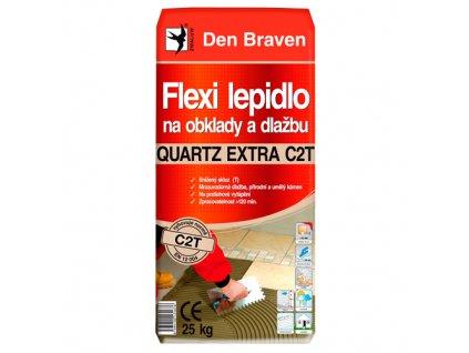 Lepidlo na obklady a dlažbu Den Braven Quartz Extra C2T (25 kg)