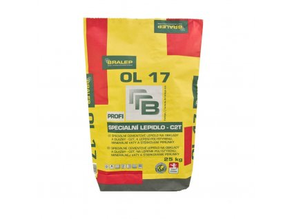 Lepidlo na obklady a dlažbu Bralep OL 17 C2T (25 kg)