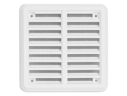 Ventilační mřížka/krytka Haco K bílá (bez příruby)