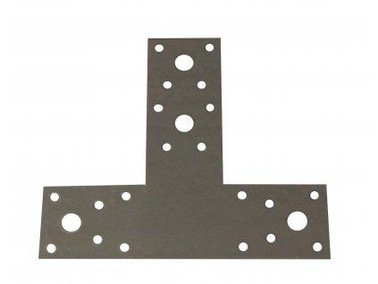 Tesařský spojovač T z galvanického zinku HPM TEC (45+95x160x2 mm)