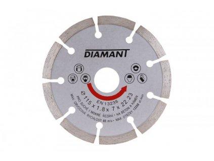 Diamantový kotouč Diamant segmentový (180x22,2 mm)