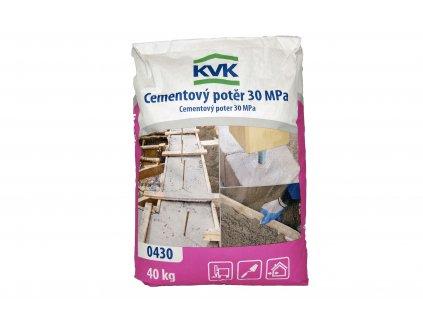 Betonový potěr KVK 0430 (40 kg)