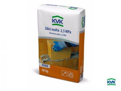 Zdící malta KVK 0900 2,5 MPa (25 kg)