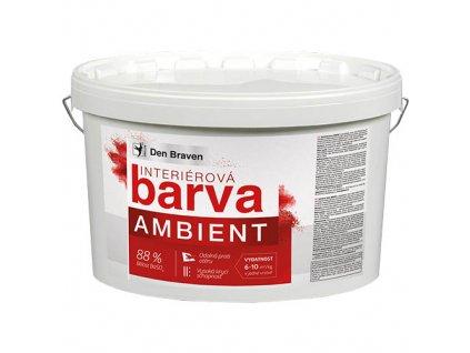 Malířská barva Den Braven Ambient (bílá, 15 kg + 3 kg)