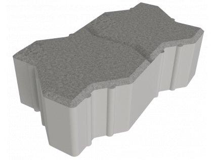 Venkovní dlažba s dvojitým zámkem Best Base (přírodní, 6 cm)