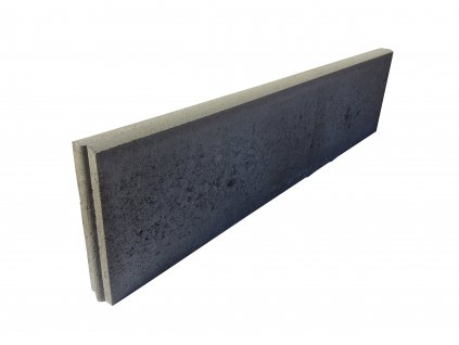 Zahradní obrubník CS-Beton R přírodní (100x5 cm)