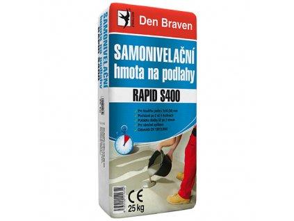 Samonivelační stěrka Den Braven Rapid S400 (25 kg)