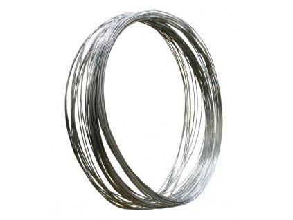 Ocelový rádlovací drát měkký černě žíhaný (4 mm)