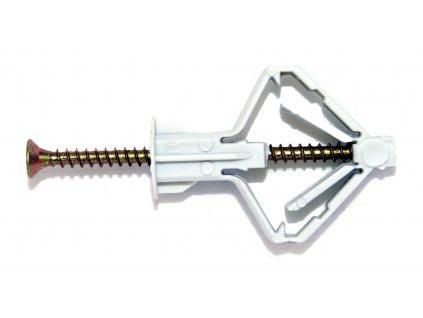 Rozevírací hmoždinka do sádrokartonvých dutin Wkret-met (průměr 10 mm)