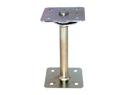 Patky pilíře s pojistkou HPM TEC (110x110x200 mm) - galvanický zinek