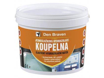 Jednosložková hydroizolace koupelna Den Braven