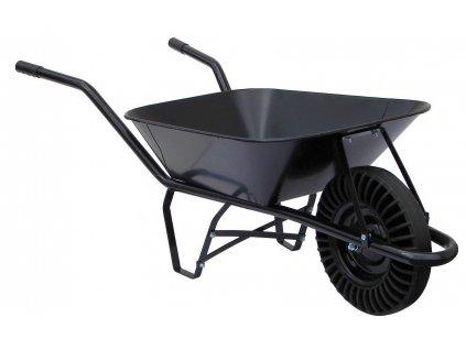 Stavební kolečko s plastovou pneumatikou Bantam (60 l)