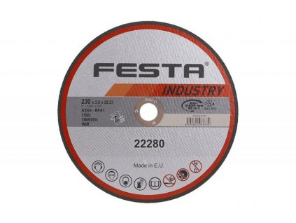 Řezný kotouč na kov Festa Industry 22280 (230x2x22,2 mm)