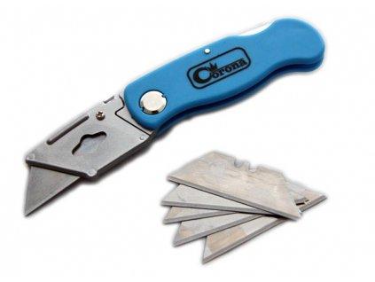 Otevírací nůž pro trapézové řezání Corona C9107 (5 čepelí)