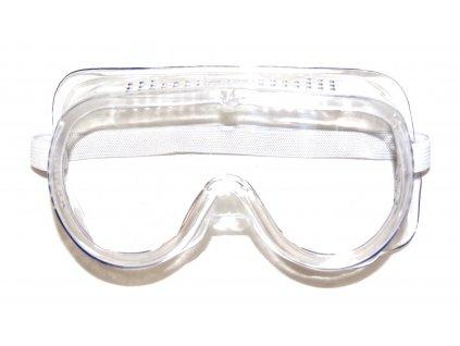 Ochranné brýle z plastu