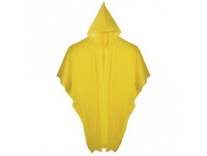 Pláštěnka pončo (žlutá)
