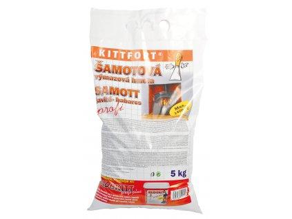 Šamotová výmazová hmota Kittfort (5 kg)