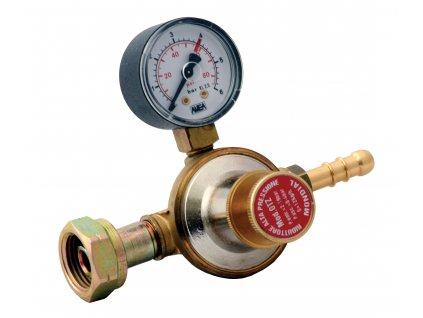 Redukční ventil propan-butan s manometrem