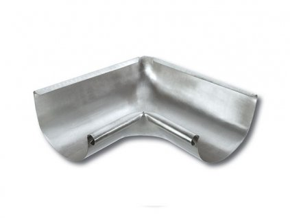 Titanzinkový vnější žlabový roh (330 mm)