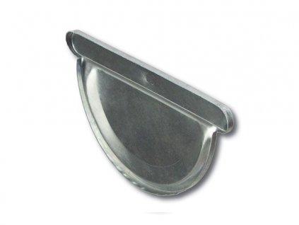 Čelo žlabu (pozinkovaný plech)