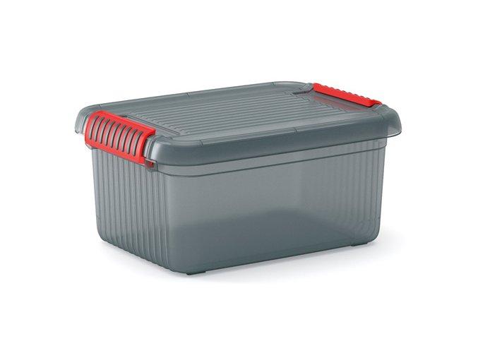 Úložný box K Latch Box (šedý)