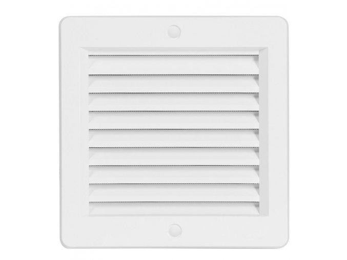Ventilační mřížka Haco VM bílá (s rámečkem)