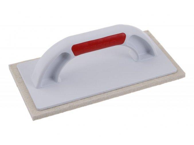 Plastové hladítko s bílou plstí Festa