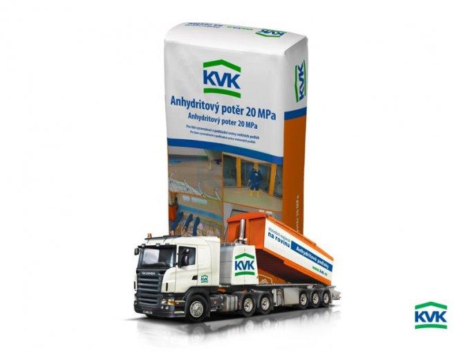 Anhydritový potěr KVK 0820 (25 kg)
