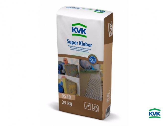 Fasádní cementové lepidlo KVK Super Kleber 0520 (25 kg)