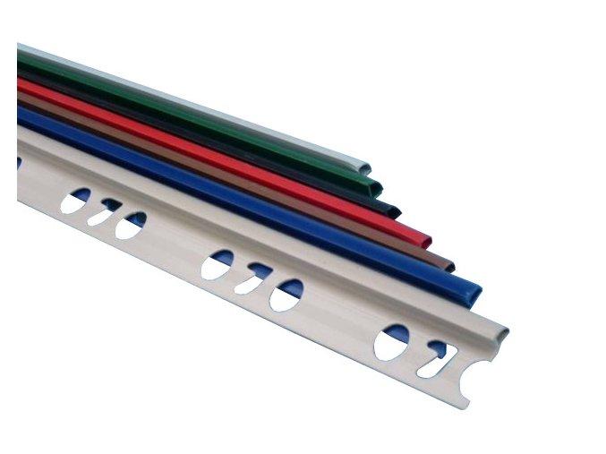 Ukončovací obkladová lišta Robex (9 mm, 2,5 m, bílá)