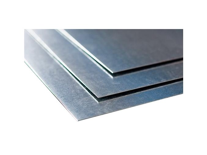 Pozinkovaná tabule plechu (1x2 m)